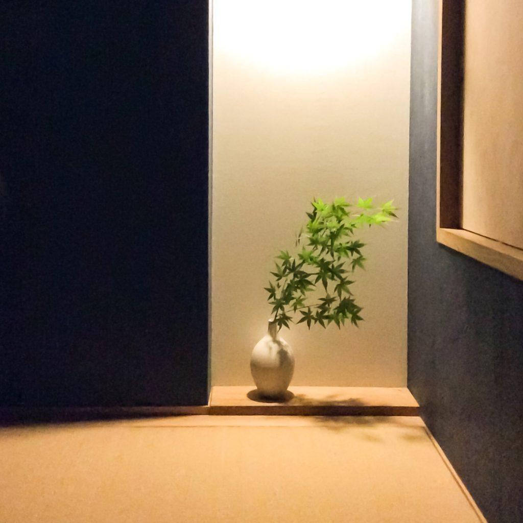 シンケンスタイルの和室床の間