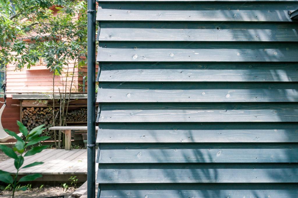 5年を過ぎた木の外壁